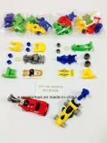 Coche de competición de deslizamiento de los juguetes de la asamblea de DIY en los juguetes promocionales para los niños