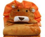 動物の赤ん坊フード付きタオルの100%年綿、多彩なタオルの