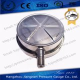 Indicateur de pression de 150 mm et 6 po de pression Full Stainless Steel Gauge de Verified China Manufacturer