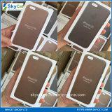 O telefone de pilha encaixota a caixa de couro das caixas do telefone móvel para o iPhone 6/6s