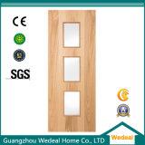 Fabrication de placages en bois massif de la porte de l'intérieur en haute qualité