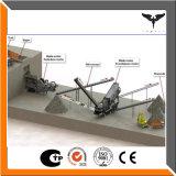 Basalt-Steinzerkleinerungsmaschine-Zeile