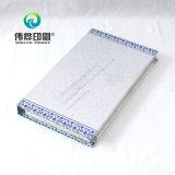 Calendário de mesa de impressão de padrão de porcelana azul e branco