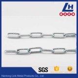 DIN5685c de la chaîne de liaison longue en acier soudé
