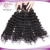 do Virgin profundo da onda da classe 8A cabelo indiano do templo