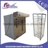 Elektrischer und Gas-Nahrungsmittelbäckerei-Konvektion-Zahnstangen-Ofen 220V/380V