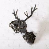 Nova decoração de parede criativa simples pendurada Artes e artesanato de madeira