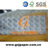 Mf Tecido branco impresso em papel de embrulho grande tamanho da folha