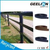 Barreira de segurança plástica recicl do estacionamento da cerca do PVC