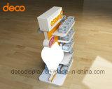 Regale des Hersteller-5 tapezieren Pappausstellung-Ausstellungsstand