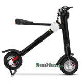 新しいデザイン緑旅行Foldable電気スクーターの折るスクーター