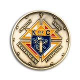 Pièce de défi de badge en métal de haute qualité