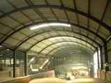 Almacén prefabricado y porta de la estructura de acero del marco