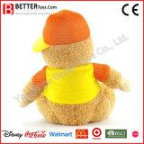 Orso molle dell'orsacchiotto del giocattolo dell'animale farcito della peluche di promozione per i ventilatori