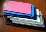 Strato variopinto di plastica della scheda pp Coroplast Corflute Correx di protezione della costruzione