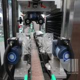 가득 차있는 자동차 PVC 레이블 수축 소매 병 라벨 붙이는 사람