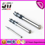 Solid Carbide High Quality 4flutes Flat End Mill
