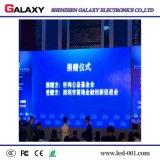Schermo di visualizzazione locativo pieno dell'interno ultrasottile del LED P3.91/P4.81 fuso sotto pressione per la fase, facendo pubblicità