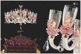 Luxus glasig-glänzende Form-Leuchter-Lichter