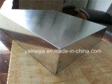 Painéis de favo de mel de alumínio soldado de 100mm com cúpula
