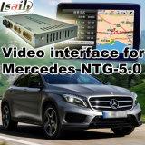 Поверхность стыка автомобиля видео- для Mercedes-Benz Ntg 5.0 тип Gle Gla Glc B c e, Android задий навигации и панорама 360 опционные