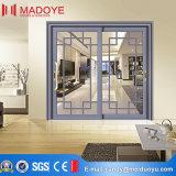 Schuifdeur van de Ingang van het Aluminium van het Glas van de Vervaardiging van de Fabriek van China de Dubbele