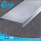 Neuer Form-Streifen-falsche Aluminiumdecke des Entwurfs-H