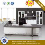 Meubles de bureau de mélamine de tailles importantes de bureau de L-Forme (HX-G0441)