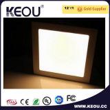 85lm/W 15W正方形の埋め込まれたLEDの照明灯のセリウムのRoHS SAAの承認