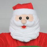 디자인 크리스마스 개 방석은 산타클로스 둥근 애완 동물 침대를 무리를 지었다