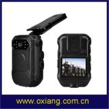appareil-photo portable imperméable à l'eau Ox-Zp605g de la police DVR de Bluetooth GPRS GPS de WiFi de l'appareil-photo HD1080p 4G 3G de corps de la police IP67 du WiFi 4G