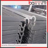 Passerelle en acier d'échafaudage pour le système de bâti