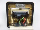 120*120mmの背部サイズの銅合金の金カラー床のソケットボックス