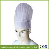 Restaurante Non-Woven Chef Hat com maior altura