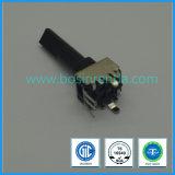 potenziometro rotativo di 9mm con l'asta cilindrica lunga per gli amplificatori