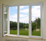 UPVC Profil-Flügelfenster-Fenster-Gitter-Entwurf mit preiswertem Preis Windows