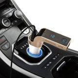 FM Bluetooth車キット車の送信機LCDの表示車の受信機