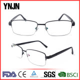 Estrutura preta Ynjn homens metade da estrutura óptica óculos da Estrutura
