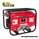 Power Value Electric Key Start Cam Gerador de gasolina profissional