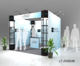 Modern Aluminum Clouded Exhibition Booth Design