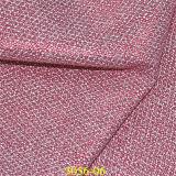 O couro de sapata colorido o mais novo do plutônio do Synthetic com teste padrão do carimbo de ouro