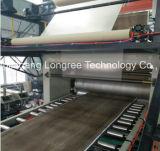 Neue fußboden-Vorstand-Maschine WPC Belüftung-SPC künstliche Marmorsteinmit UVbeschichtung