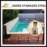 Spigot de vidro da cerca de vidro do aço inoxidável/Spigot da piscina