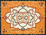Mosaico di marmo naturale 1200X1800mm del reticolo di arte pavimento/della parete