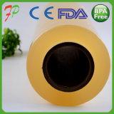 El abrigo claro del alimento del PVC se aferra película de estiramiento adhesiva de la película LLDPE