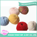 100% algodão lã de rosca para a Colagem de acrílico Cruz Tricotar