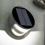 Allumage de la lumière extérieure de mur de stationnement de jardin du panneau solaire DEL