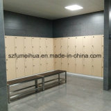 Hottest Black Benches and Oak HPL Laminate Lockers