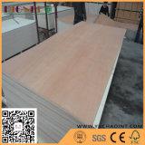 Madera contrachapada de la cara de la madera dura del rojo del grado 2.5m m de BB/CC para el mercado de África
