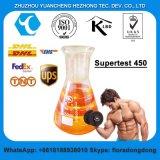 Halb fertige Steroid-Flüssigkeiten spritzen nach Filteration Supertest 450 mg/ml ein
